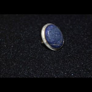 Lapis Lazuli Statement Ring 7